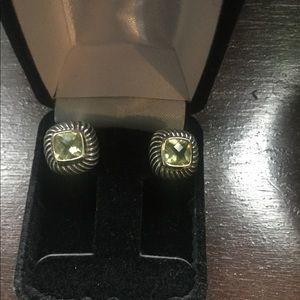 Vintage David Yurman cable earrings